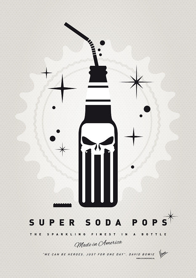 Punisher Digital Art - My Super Soda Pops No-15 by Chungkong Art