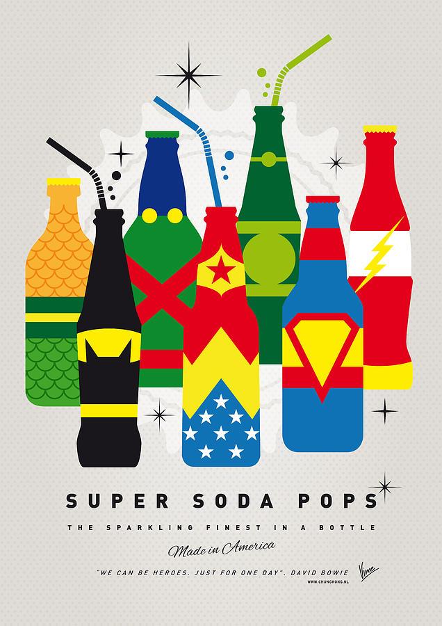 My Super Soda Pops No-26 Digital Art