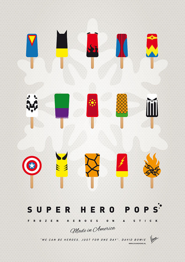My Superhero Ice Pop Univers Digital Art