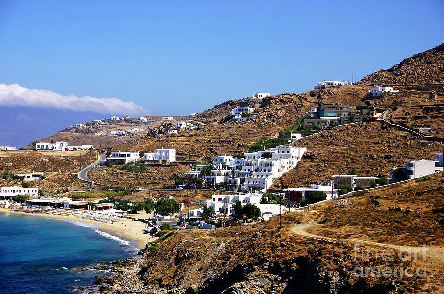 Mykonos Mountain View Photograph  - Mykonos Mountain View Fine Art Print