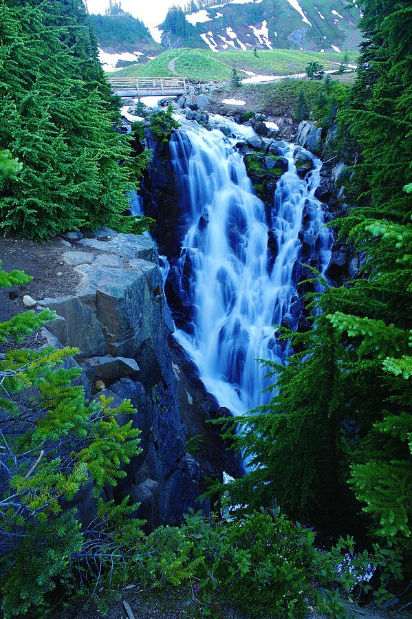 Water Falls Photograph - Myrtle Falls by Jeff Swan