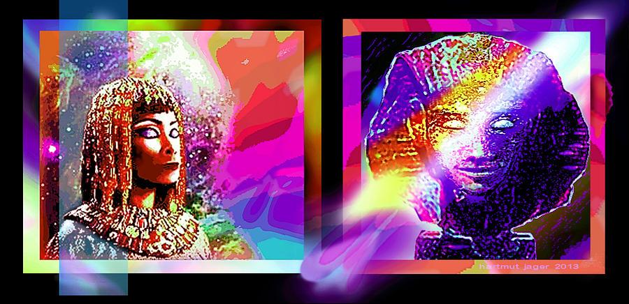 Mysterious Egypt Digital Art