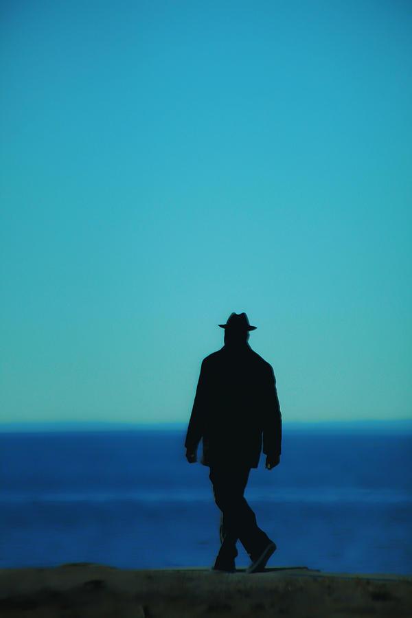 Man Photograph - Mysterious Man by Karol Livote