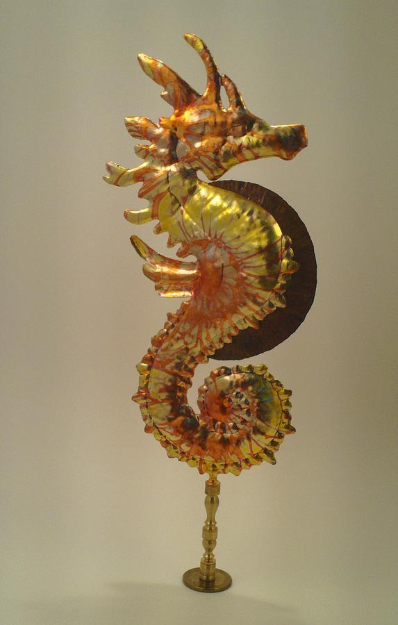 Seahorse Sculpture - Mysterious Steed by Jessica Dietz