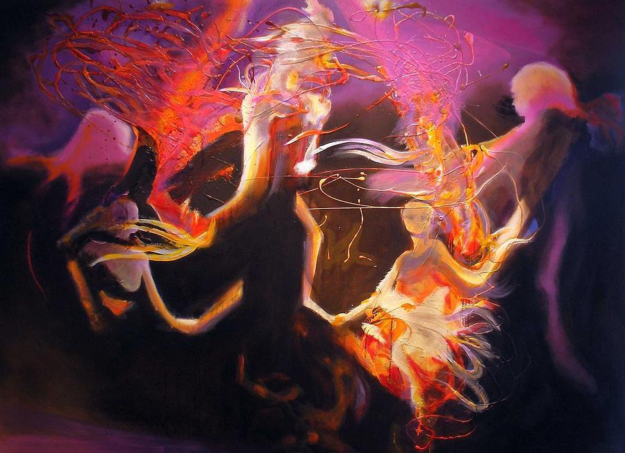 Mystic Circle Painting