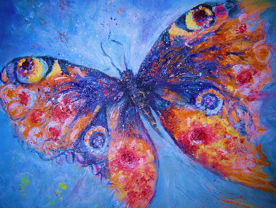 Mystical Butterfly Painting By Vicki Wynberg