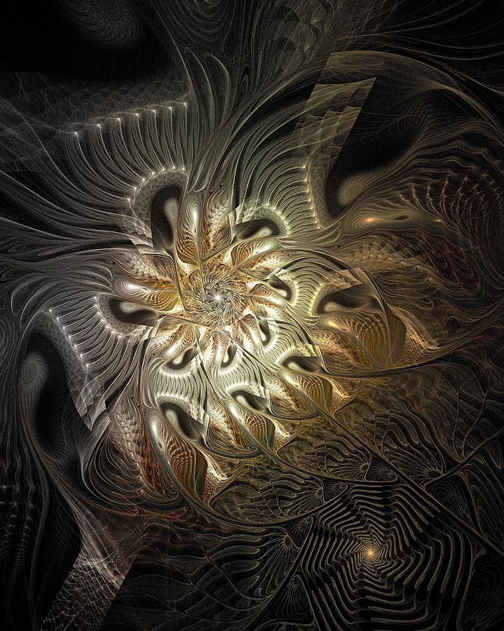 Digital Art Digital Art - Mystical Metamorphosis by Amanda Moore