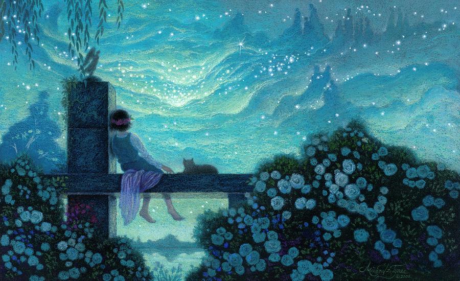 Mystical Acrylic Paintings