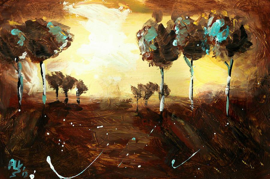 Mystified Painting