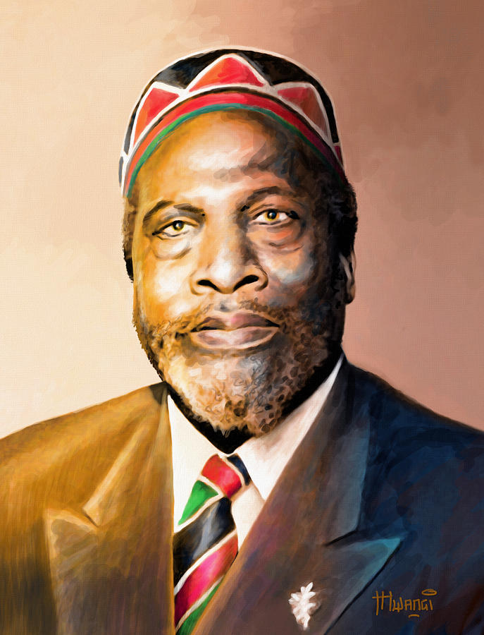 Mzee Jomo Kenyatta is a painting by Anthony Mwangi which was uploaded ...