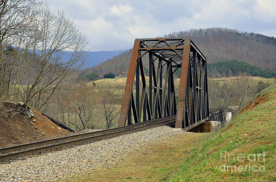 N W Railroad Trestle Photograph