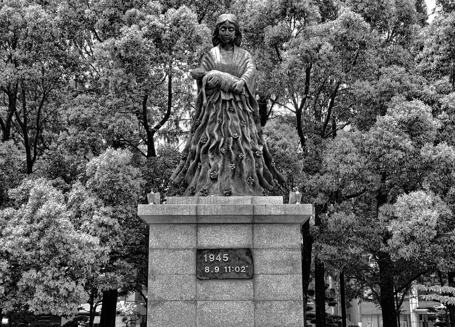 Nagasaki Peace Park Study 1 Photograph