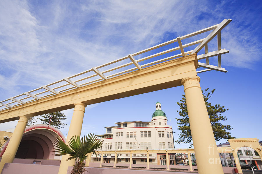 Napier New Zealand Art Deco Photograph