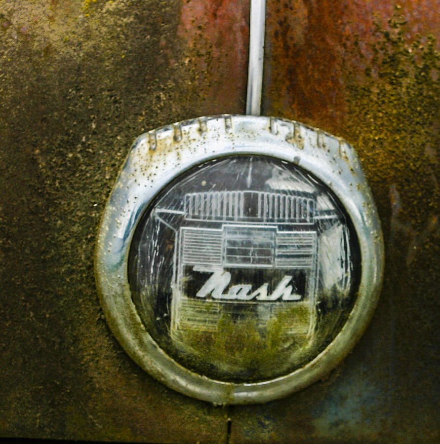 Car Photograph - Nash by Jean Noren
