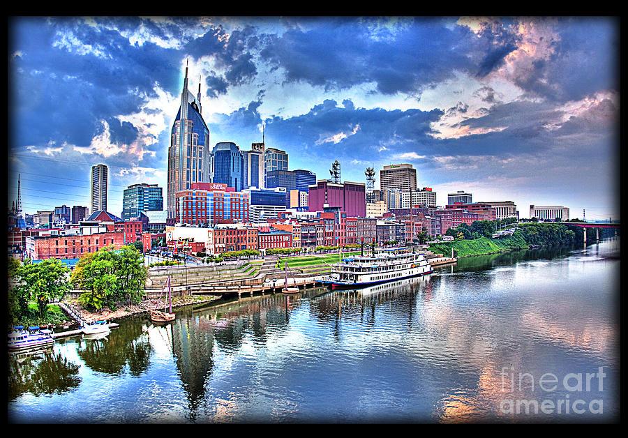 City View Photograph - Nashville by Jennifer Pinckney