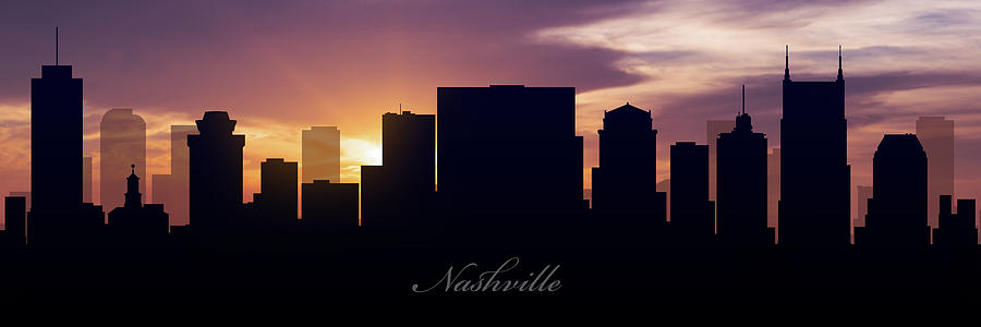 Nashville Sunset Photograph
