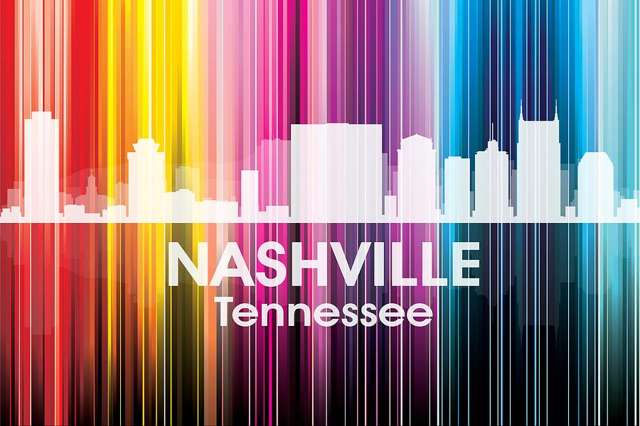 Nashville Tn 2 Mixed Media