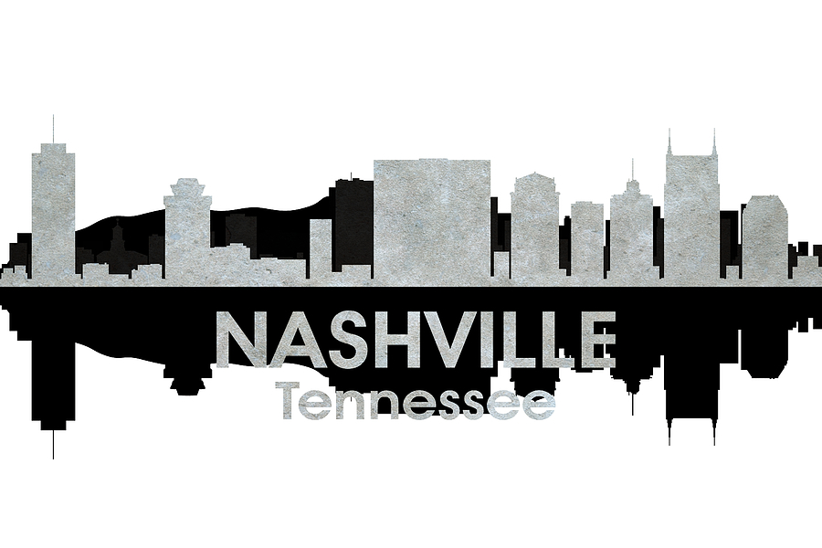 Nashville Mixed Media - Nashville Tn 4 by Angelina Vick