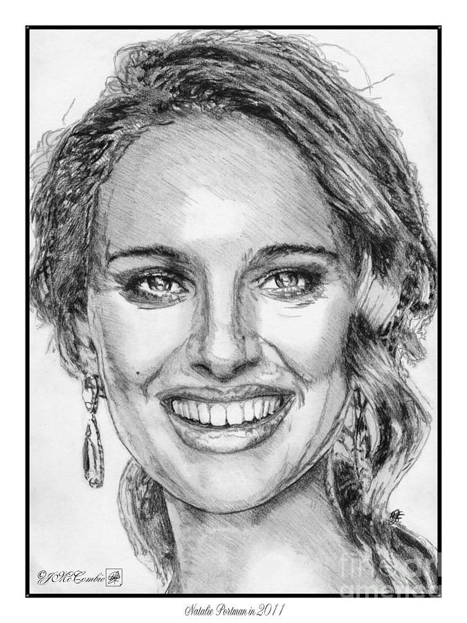Natalie Portman In 2011 Drawing
