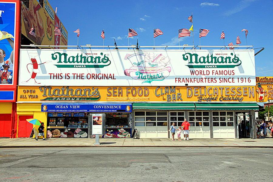 Nathan Franks Coney Island