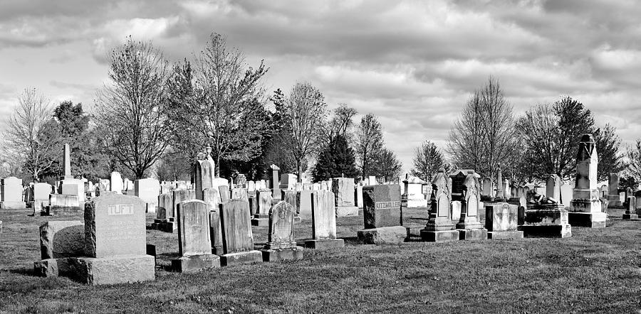 Gettysburg Photograph - National Cemetery - Gettysburg Battlefield by Brendan Reals