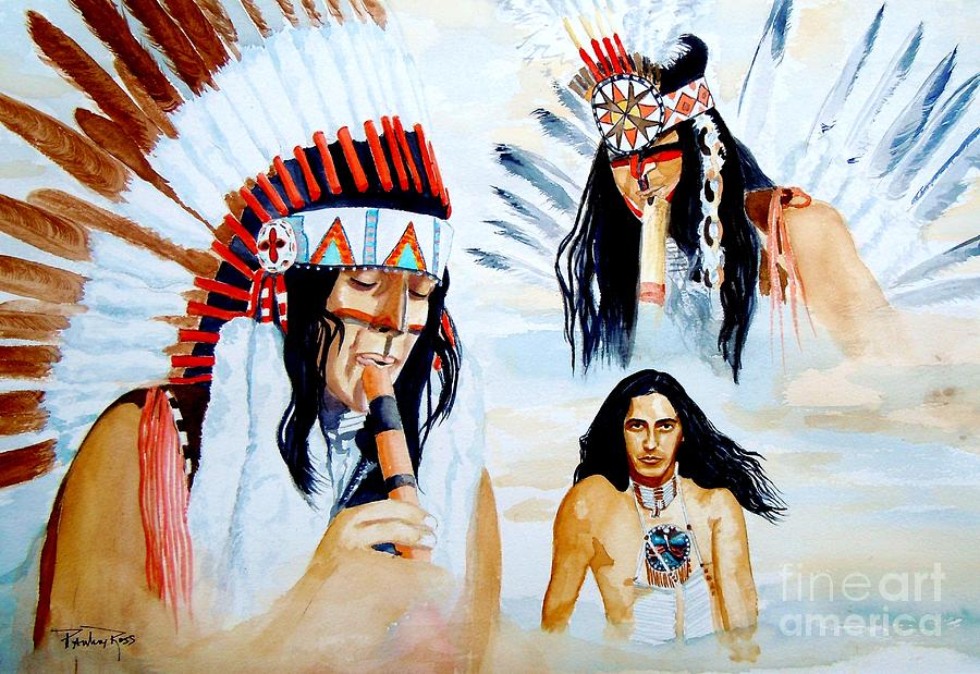 Nativezone Inkakike Painting  - Nativezone Inkakike Fine Art Print