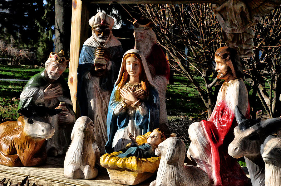 Nativity Photograph  - Nativity Fine Art Print