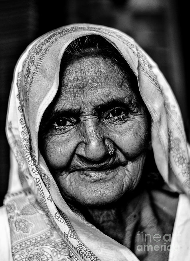 Black And White Photograph - Natural Beauty by Gautam Gupta