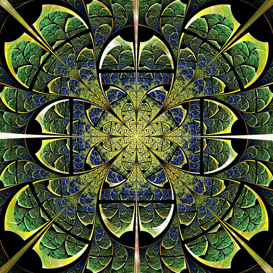 Nature Gates Digital Art