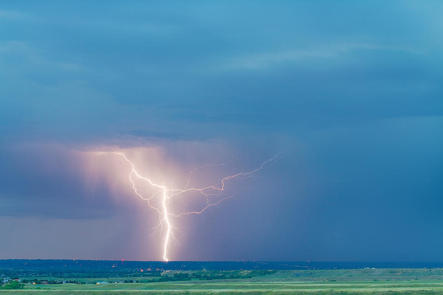 Lightning Photograph - Natures Avenging Spirit  by James BO  Insogna