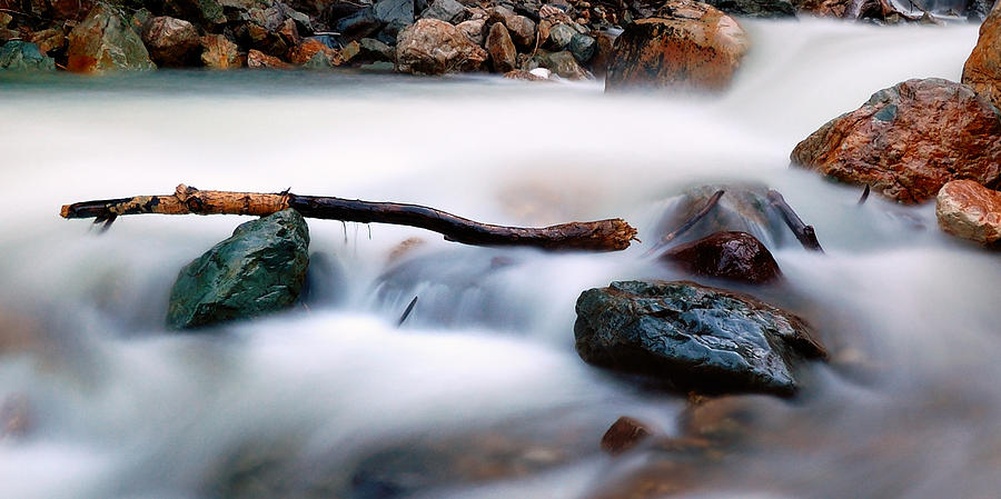 Natures Balance - White Water Rapids Photograph  - Natures Balance - White Water Rapids Fine Art Print