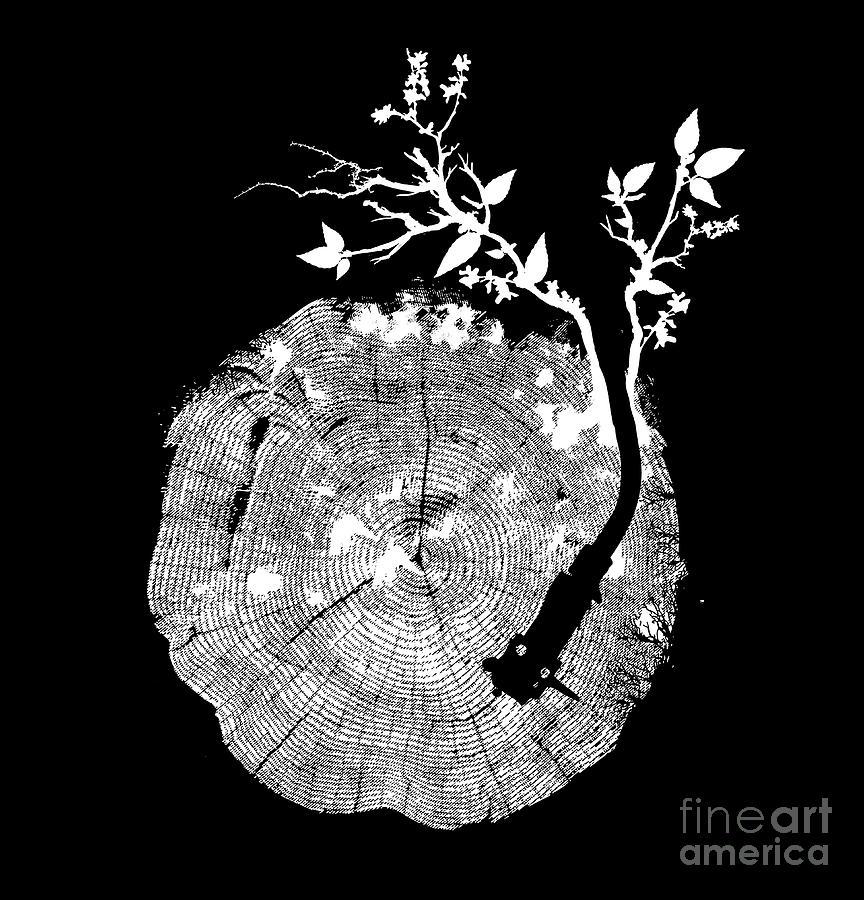 Natures Choir Mono Digital Art