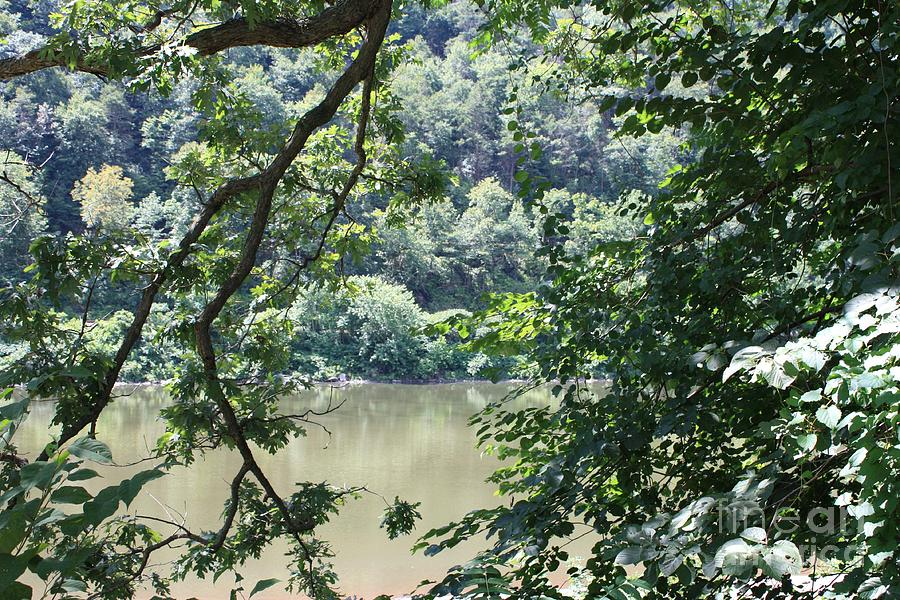 Natures Frame Of The Delaware Water Gap Photograph