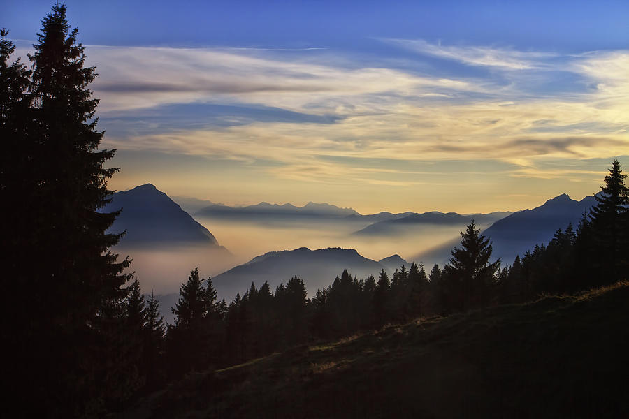 Switzerland Photograph - Natures Palette by Kim Andelkovic