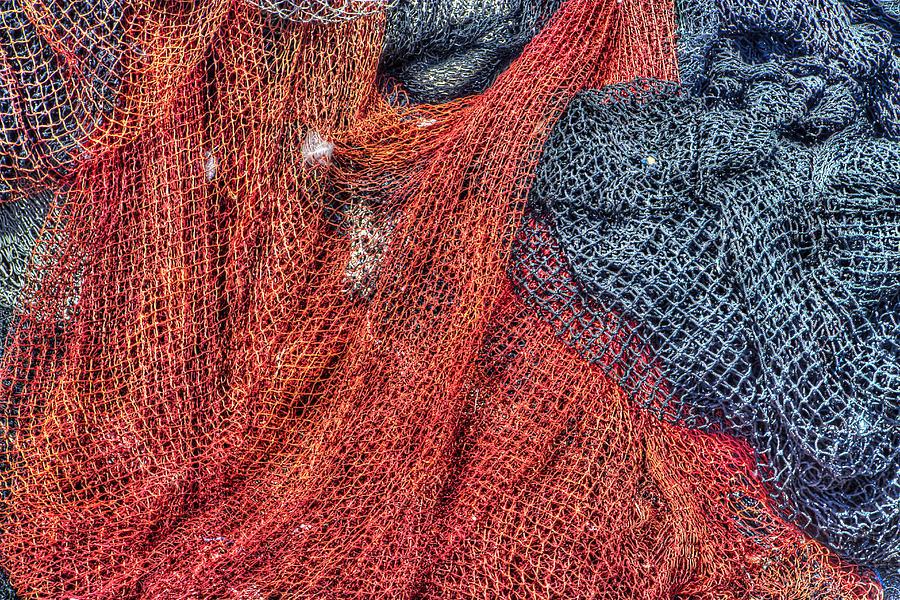 Nautical Nets Photograph