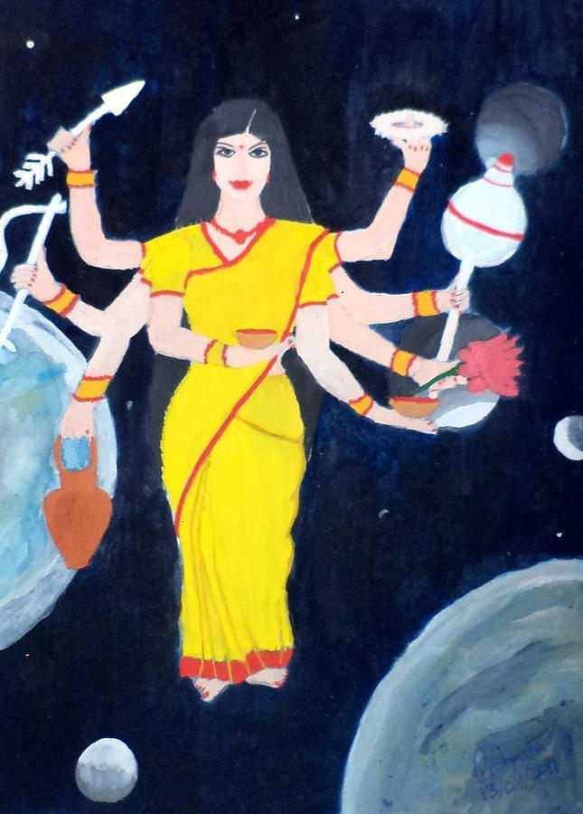 Nava Durga Kusmaanda Painting