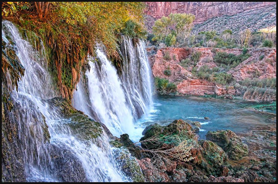 Navajo Falls Photograph - Navajo Falls by Stellina Giannitsi