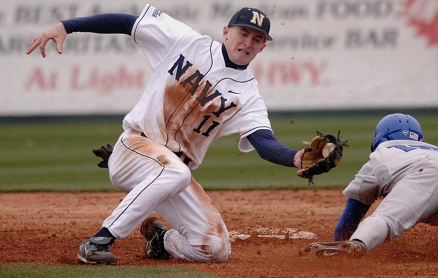 Navy Baseball Photograph