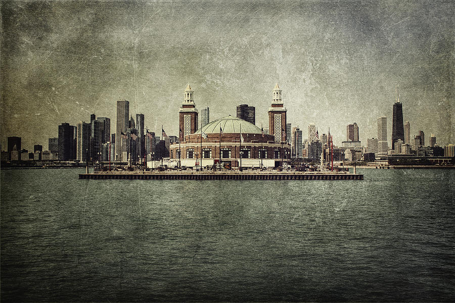 Chicago Photograph - Navy Pier by Andrew Paranavitana