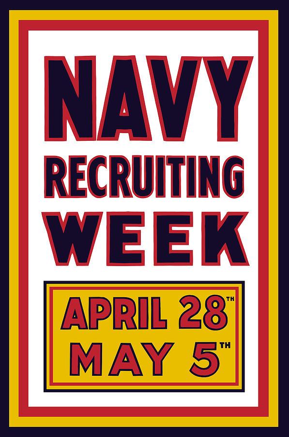 Navy Recruiting Week  Digital Art