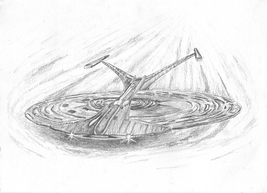 Ncc-1701-j Enterprise Drawing