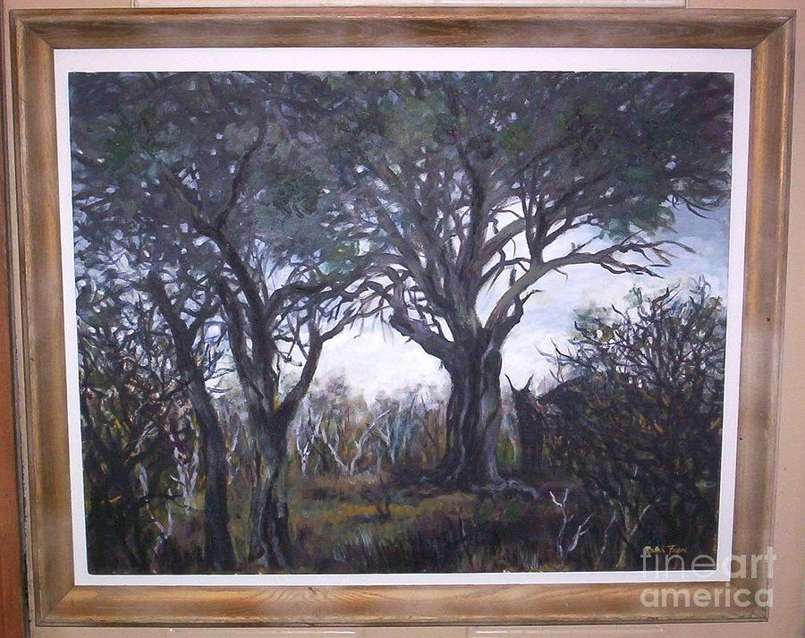 Near The Sabie River South Africa Painting