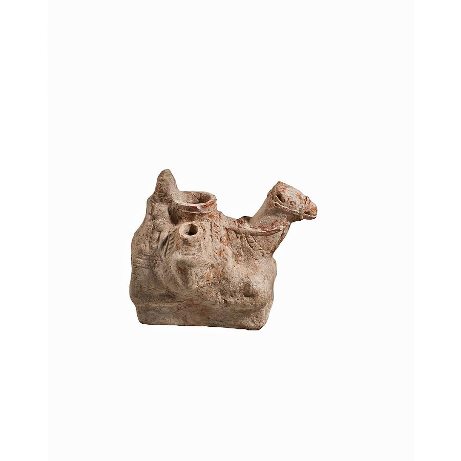 Nebatean Terracotta Vessel Photograph