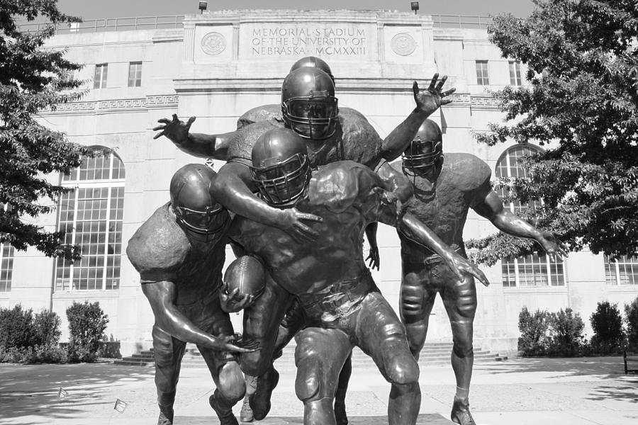 University Of Nebraska Photograph - Nebraska Football by John Daly
