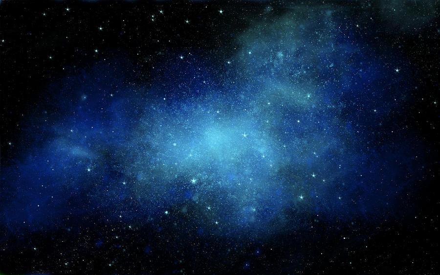 Nebula Mural Painting