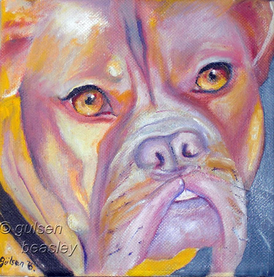 Neds Dog 2 Painting