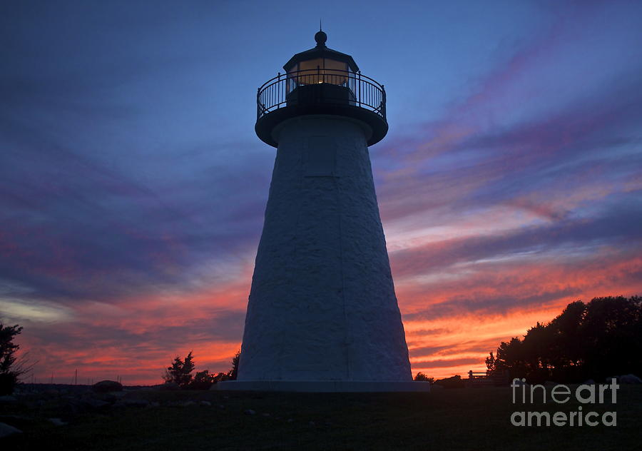 Neds Point Lighthouse Photograph  - Neds Point Lighthouse Fine Art Print