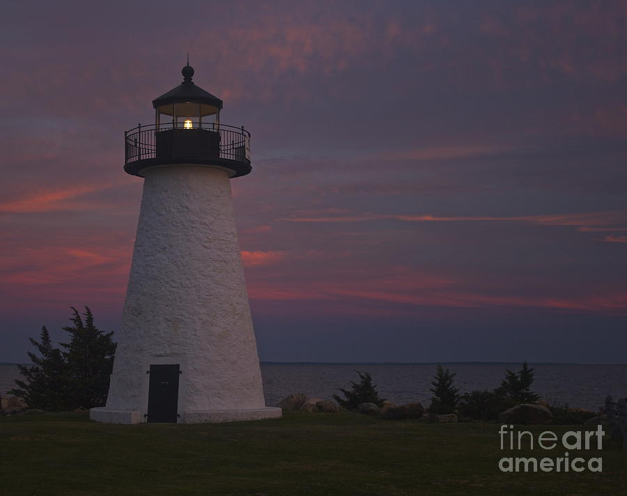 Neds Point Lighthouse Of Mattapoisett Photograph