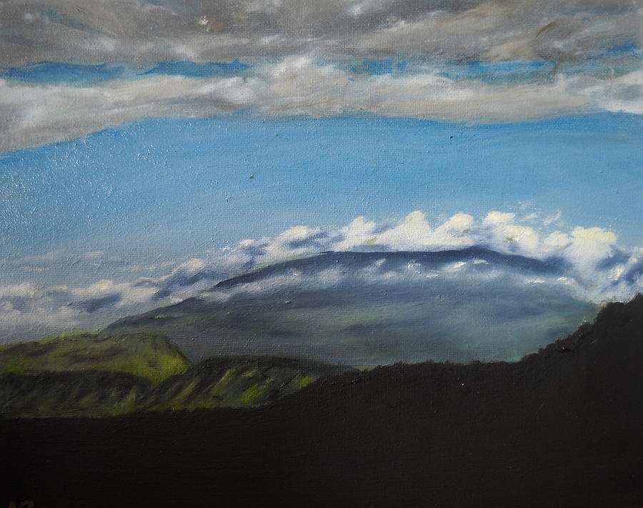 Negative Space - La Reunion Painting