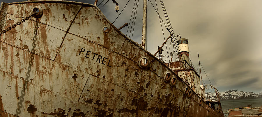 Neglected Whaling Boat Photograph
